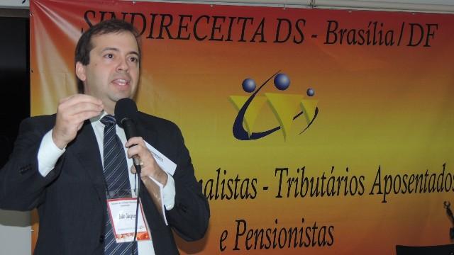 Diretor de Assuntos Jurídicos do SINDIRECEITA, João Jacques S. Pena.