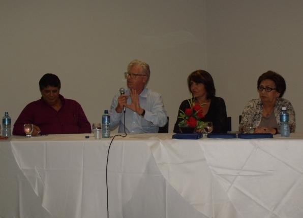 Usou da palavra o Presidente do MOSAP (Movimento dos Servidores Aposentados e Pensionistas), Dr. Edison Guilherme Haubert.
