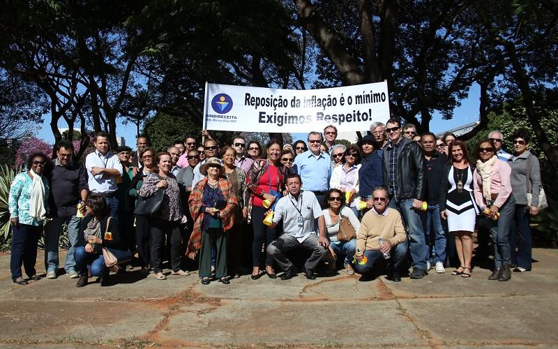 Mobilização dos Analistas-Tributários lotados nas unidades da Receita Federal em Brasília/DF